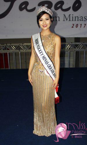 01 - Miss Nikkey Minas Gerais 2017 - Harumi Amanda Yukawa