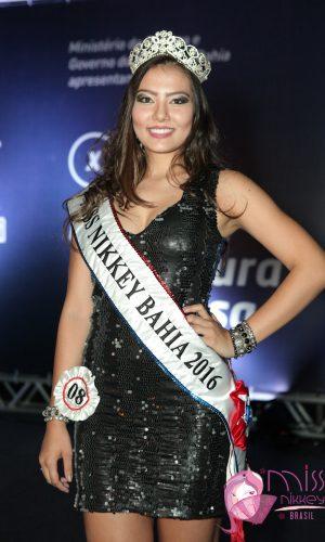 1 - Miss Nikkey BA 2016 - Larissa Lopes Mano