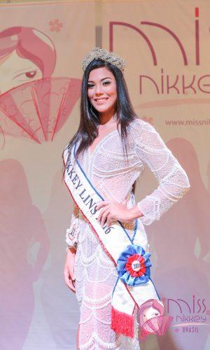 1 - Miss Nikkey Lins 2016 - Tatiana Saori Takamoto Dos Santos
