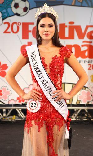 13 - Miss Nikkey São Paulo 2017 - Tatiana Saori Takamoto dos Santos - representante de Lins