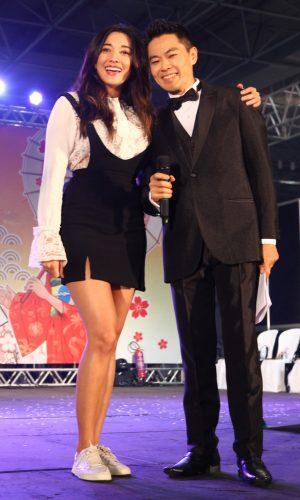 32 - Jacqueline Sato - atriz da novela Sol Nascente