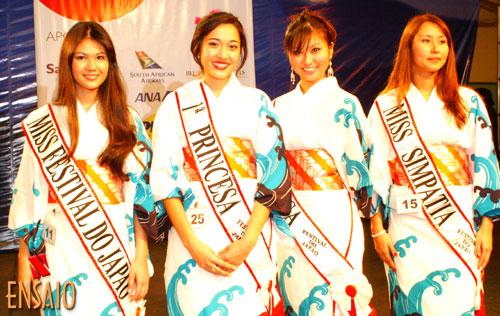 Aline Takazone é a nova Miss Festival do Japão 2007