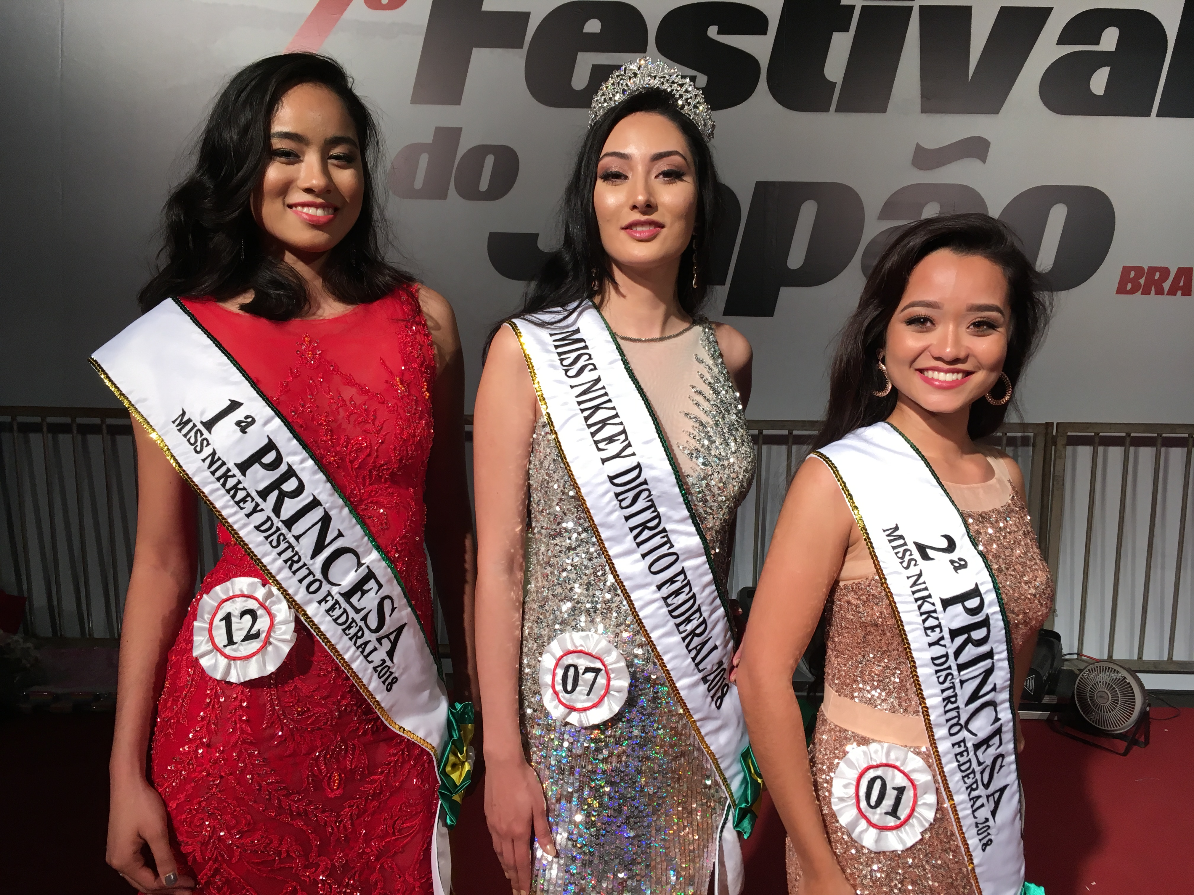 Miss Nikkey Distrito Federal 2018