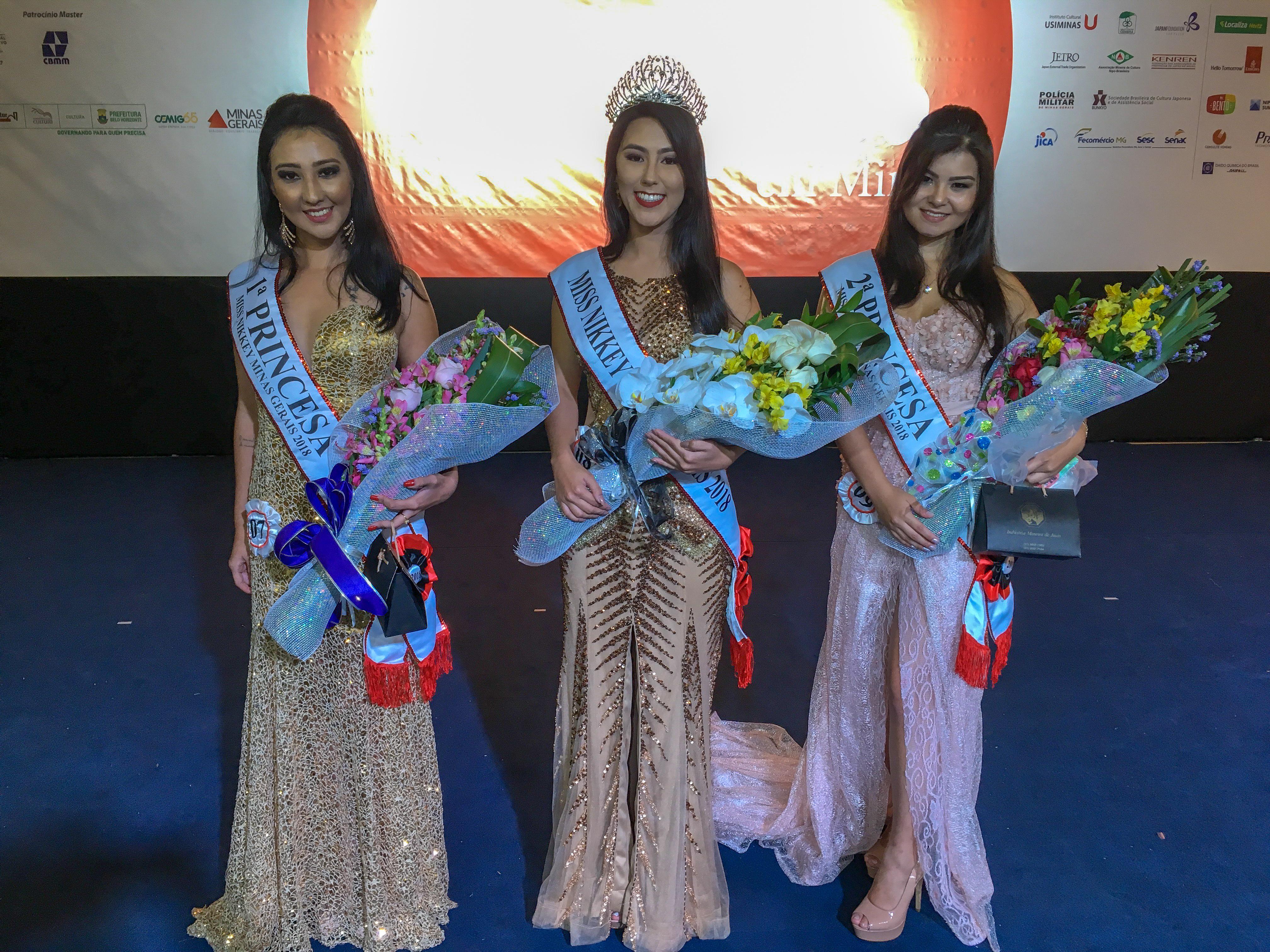 Miss Nikkey Minas Gerais 2018